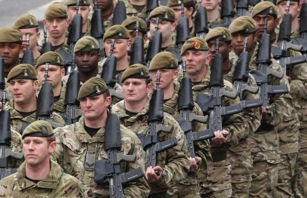 Армия Великобритании