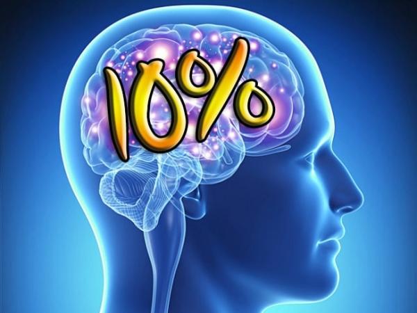 Миф о 10 % используемой части мозга