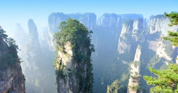 Горы Тяньцзи