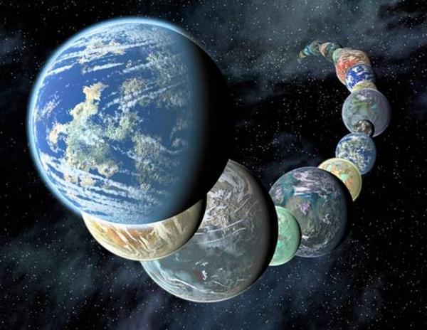 Все экзопланеты похожи на Землю